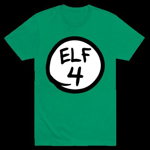 Elf Four Mens T-Shirt