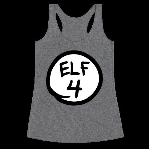 Elf Four Racerback Tank Top