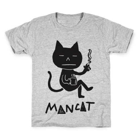 MAN CAT Kids T-Shirt