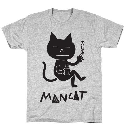 MAN CAT Mens T-Shirt