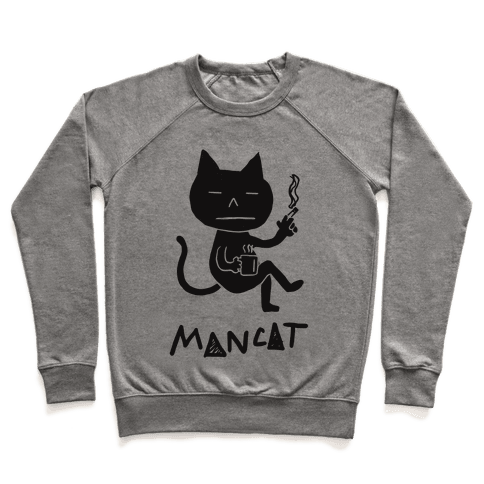 MAN CAT Pullover