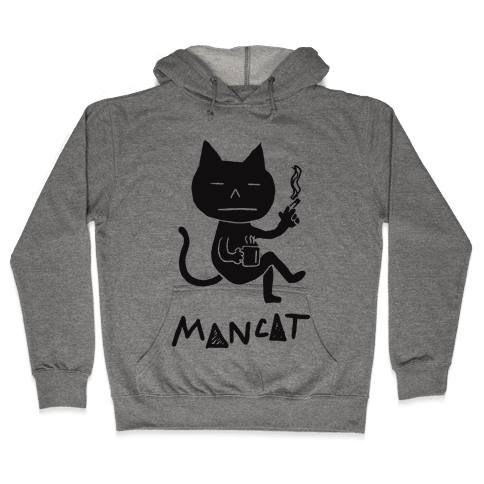 MAN CAT Hooded Sweatshirt