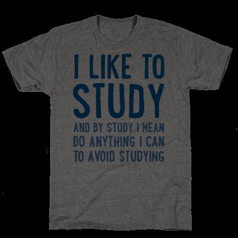 I Like To Study