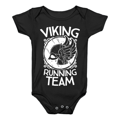 Viking Running Team Baby Onesy