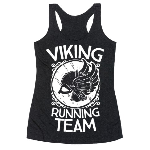 Viking Running Team Racerback Tank Top