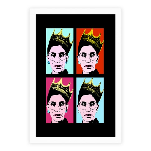 RBG Pop Art Poster