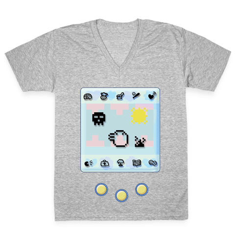 Digital Pet V-Neck Tee Shirt