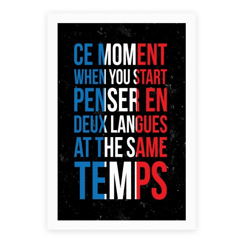 Ce Moment When Poster