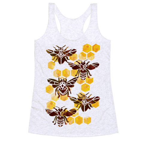 Bee Kingdom Racerback Tank Top