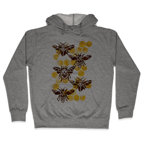 Bee Kingdom Hooded Sweatshirt