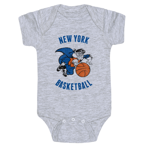 New York (Vintage) Baby Onesy