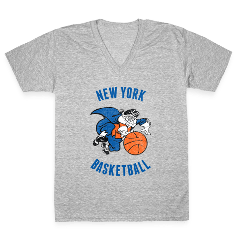 New York (Vintage) V-Neck Tee Shirt