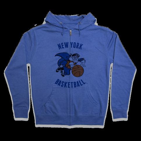 New York (Vintage) Zip Hoodie