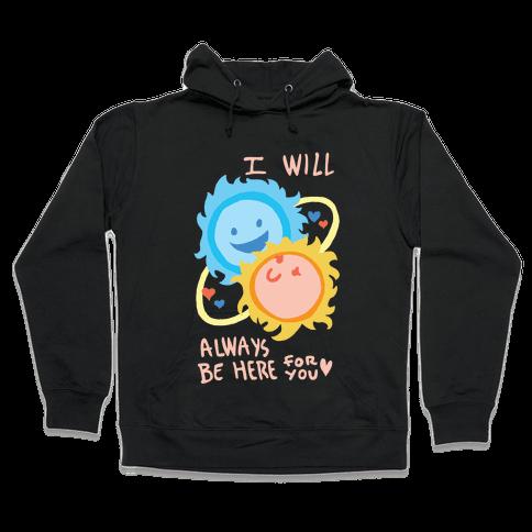 Binary Star Love Hooded Sweatshirt