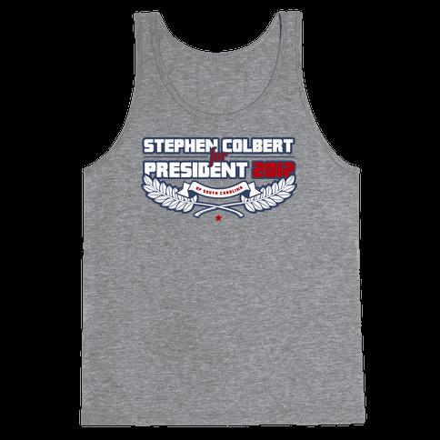 Stephen Colbert for President of South Carolina 2012 Tank Top