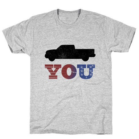 Truck You! Mens T-Shirt