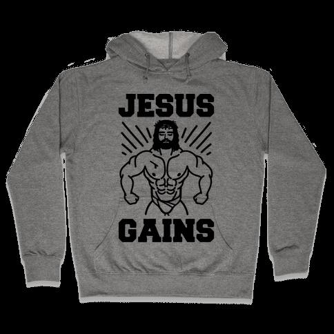 Jesus Gains Hooded Sweatshirt