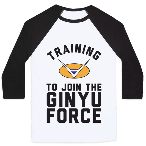Training To Join The GInyu Force Baseball Tee