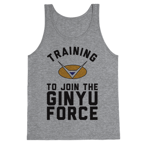 Training To Join The GInyu Force Tank Top