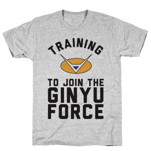 Training To Join The GInyu Force Mens T-Shirt