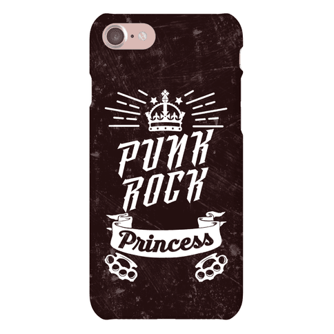 Punk Rock Princess Phone Case