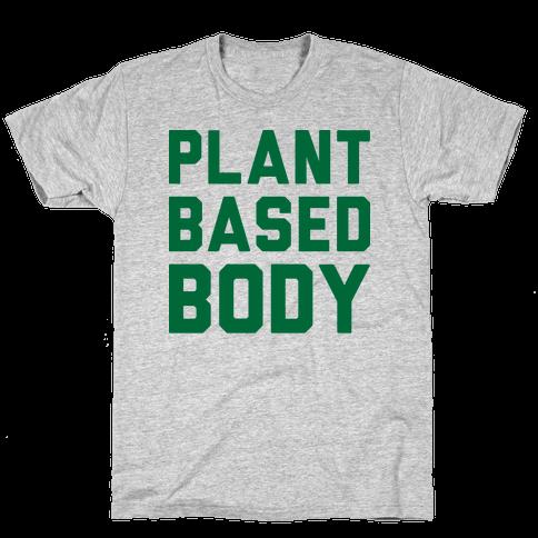 Plant-Based Body Mens T-Shirt