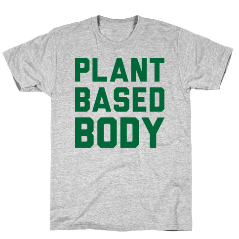 Plant-Based Body Mens T-Shirt