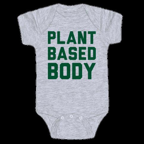 Plant-Based Body Baby Onesy