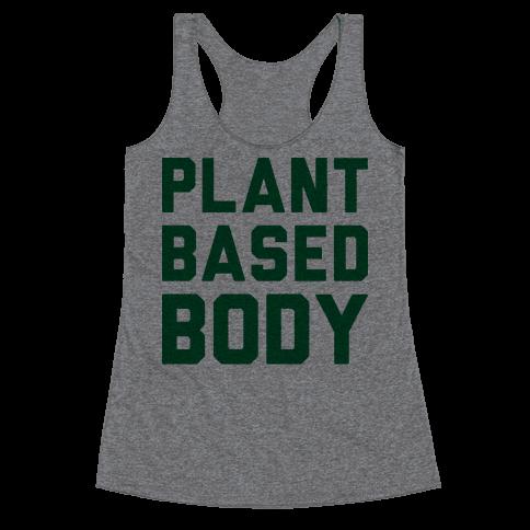 Plant-Based Body Racerback Tank Top
