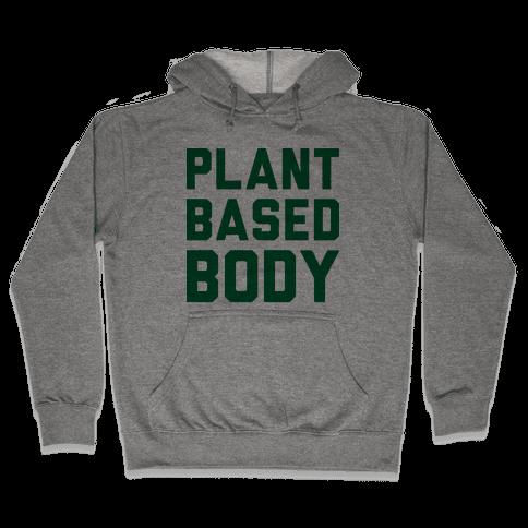 Plant-Based Body Hooded Sweatshirt