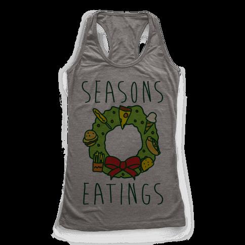 Season's Eatings Racerback Tank Top