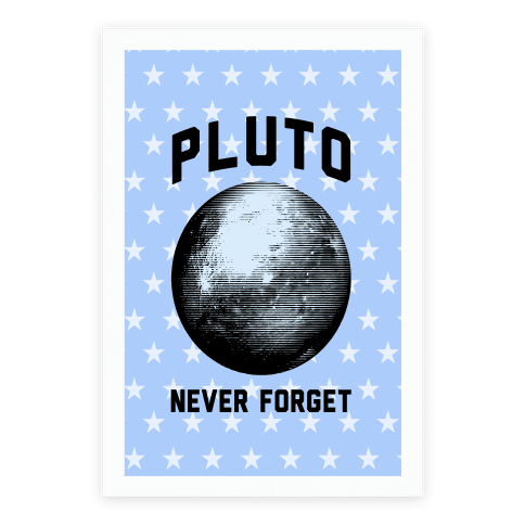 Pluto Poster Poster