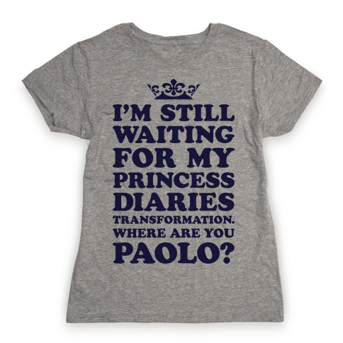 Where Are You Paolo? Womens T-Shirt