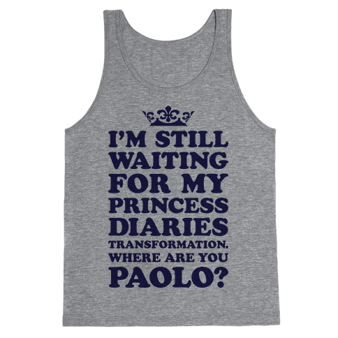 Where Are You Paolo? Tank Top