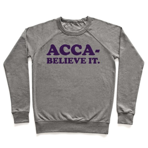 Acca-Believe It Pullover