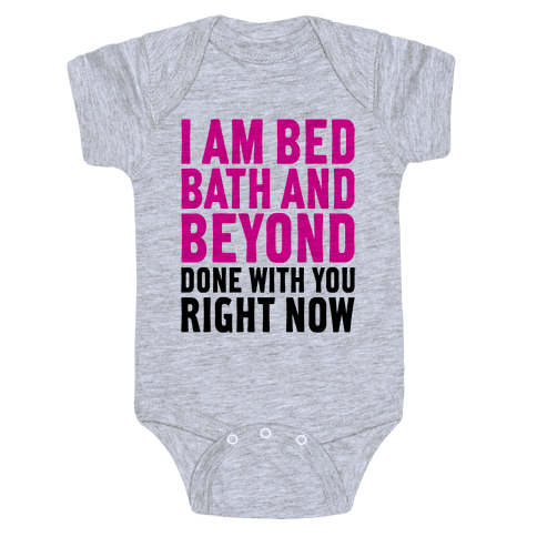 Bed Bath And Beyond Done Baby Onesy