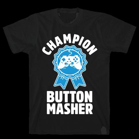 Champion Button Masher Mens T-Shirt