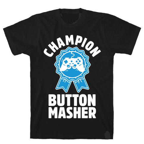 Champion Button Masher Mens T-Shirt