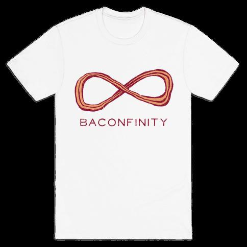 Baconfinity (Applewood Vintage) Mens T-Shirt