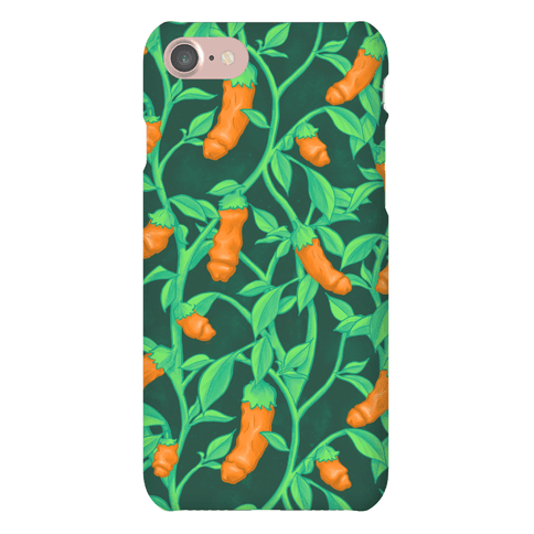 Orange Peter Pepper Patern Phone Case