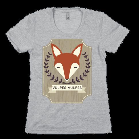 Fox Womens T-Shirt