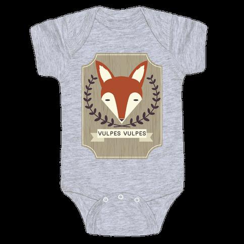 Fox Baby Onesy