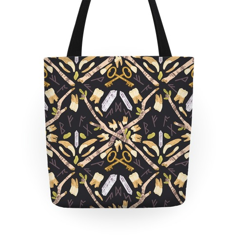 Occult Divination Pattern Tote