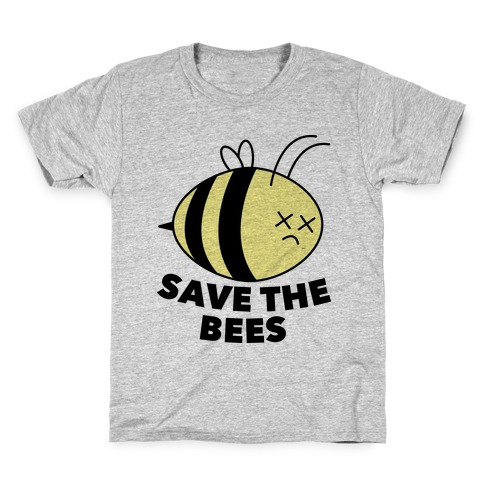 8bad2e5ada2 Save The Bees! Kids T-Shirt