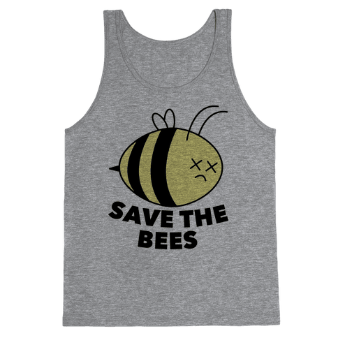 Save The Bees! Tank Top