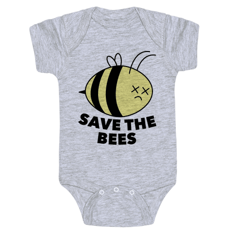 Save The Bees! Baby Onesy