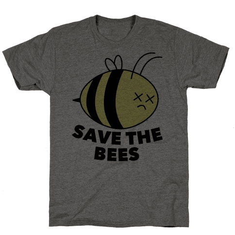 Save The Bees! Mens T-Shirt