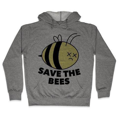 Save The Bees! Hooded Sweatshirt