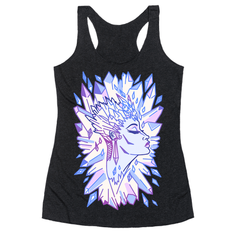 The Snow Queen Racerback Tank Top