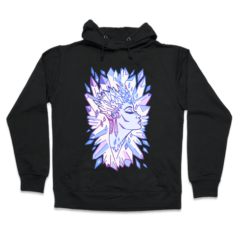 The Snow Queen Hooded Sweatshirt